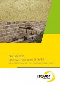 Brochure spouwmuurisolatie inblazen