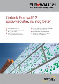 Eurowall 21 spouwisolatie